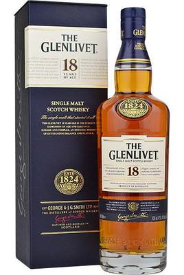 Glenlivet 18-Year Old Single Malt Scotch