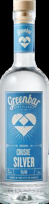 Greenbar Distillery Crusoe Organic Silver Rum