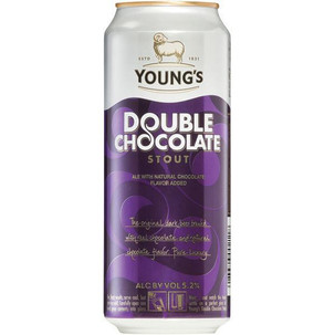 Young's Double Chocolate Stout cans 4pk