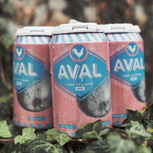 Aval French Rose Cidre 4pk can