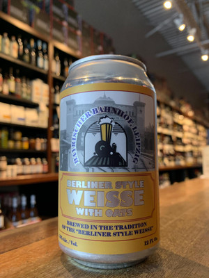 Bahnhof Berliner Weisse with Oats 12oz can