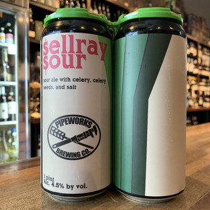 Pipeworks Sellray Sour 4pk 16oz can
