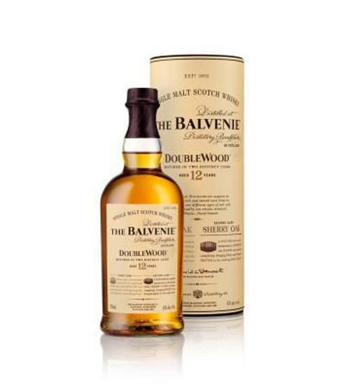Balvenie 12yr DoubleWood Single Malt Scotch 750mL