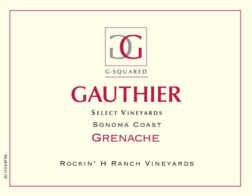 Gauthier Sonoma Coast Grenache