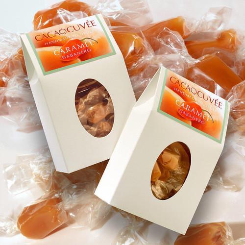 Cacao Cuvee Habanero Caramel 8oz Box