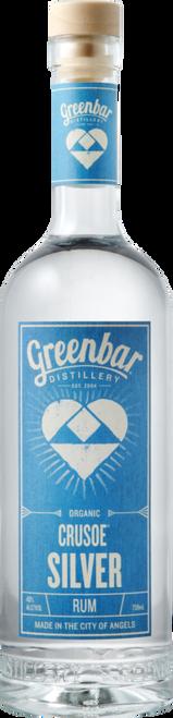 Greenbar Distillery Crusoe Organic Silver Rum 750mL