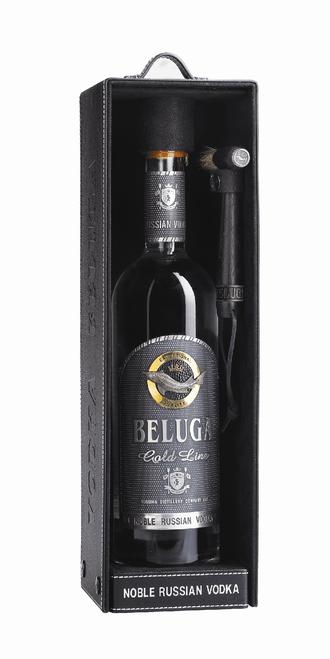Beluga Gold Line Noble Russian Vodka 750mL