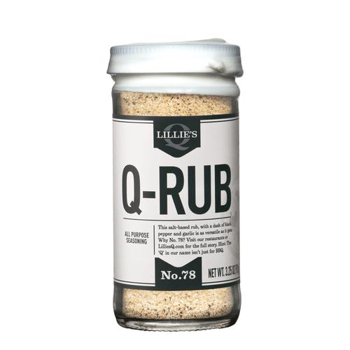 Lillie's Q Q-Rub 3.25oz