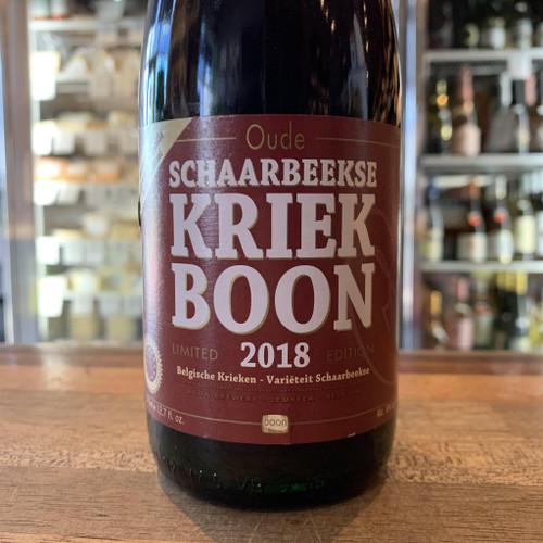 Boon Kriek Schaarbeekse 2018 375ml