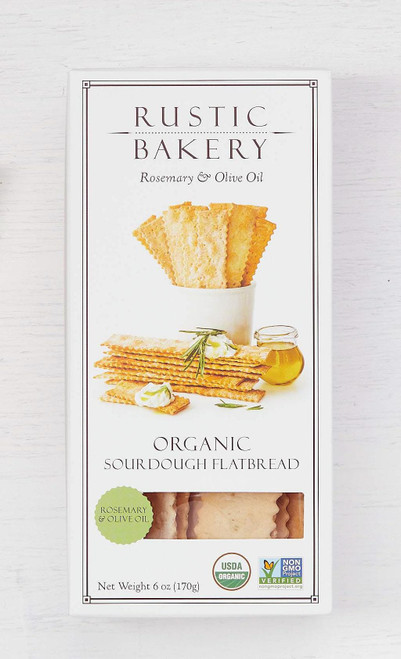 Rustic Bakery Rosemary & Olive Oil Crackers 6oz