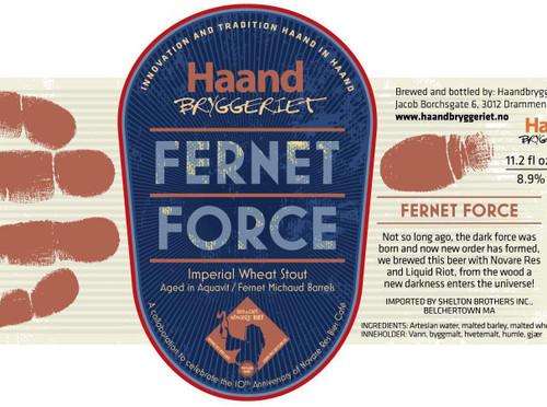 Haand Bryggeriet Fernet Force 330ml