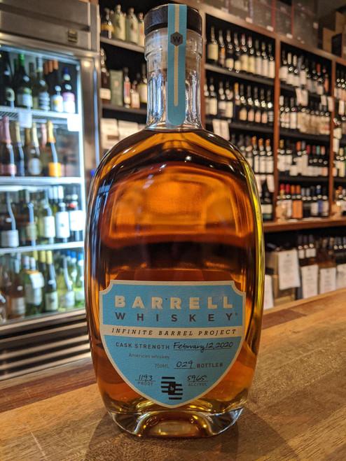 Barrell Craft Infinite Barrel Project American Whiskey 750mL