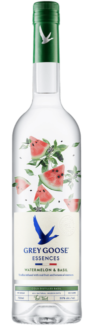 Grey Goose Essences Watermelon & Basil Vodka 750mL