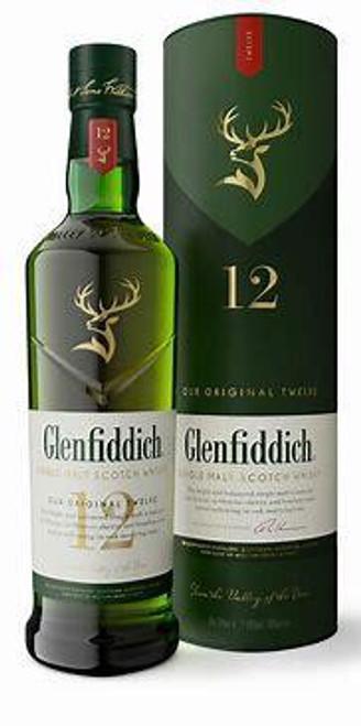 Glenfiddich 12 Single Malt Scotch Whisky 750ml