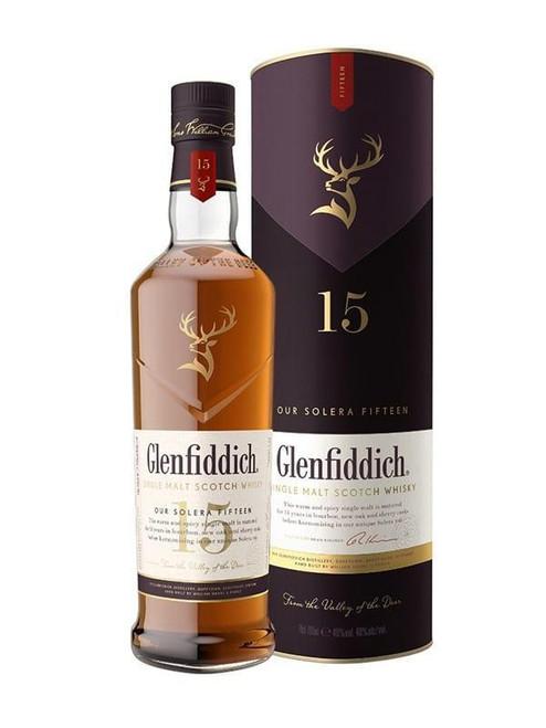 Glenfiddich 15yr Single Malt Scotch Whisky 750mL
