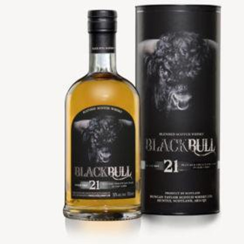 Black Bull 21yr Blended Scotch Whisky 750mL