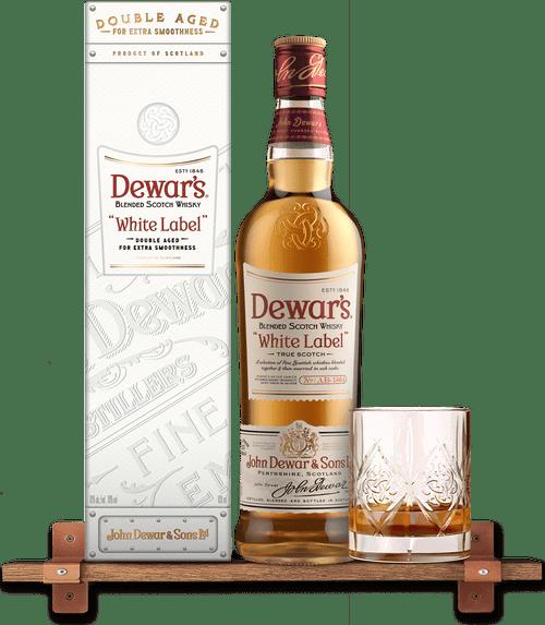 Dewars White Label Blended Scotch Whisky 750ml