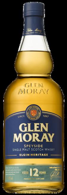 Glen Moray 12yr Speyside Single Malt Scotch Whisky 750mL