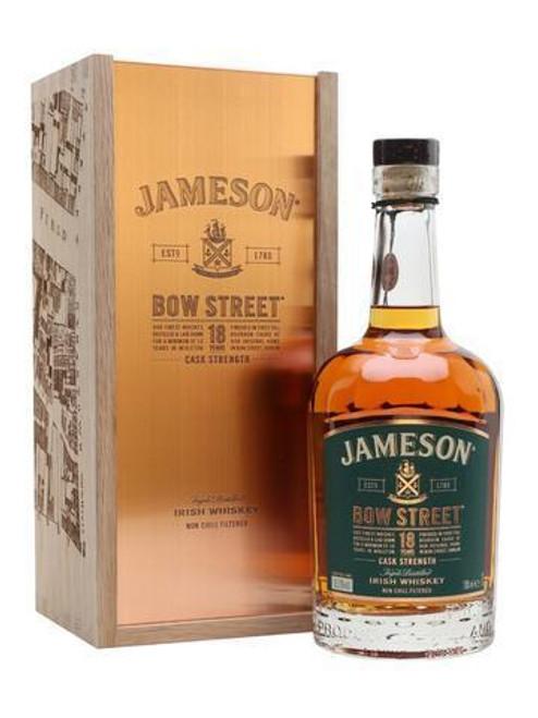 Jameson Bow Street 18yr Cask Strength Irish Whisky 750mL