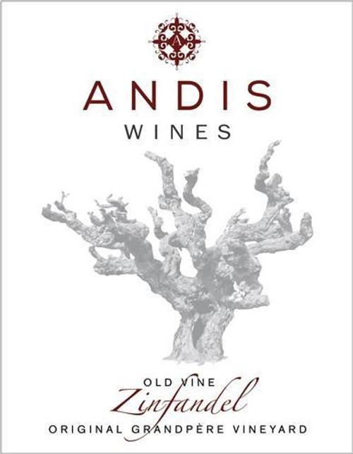 Andis Old Vine Zinfandel Grandpere Vineyard