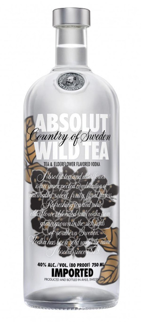 Absolut Wild Tea Vodka 750mL