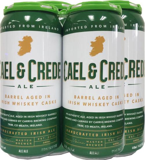 Carrig Cael & Crede Barrel-Aged Irish Ale 4pk cans