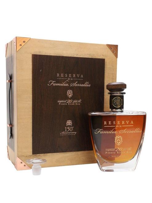 Don Q Rum Reserva De La Familia Serralles 150th