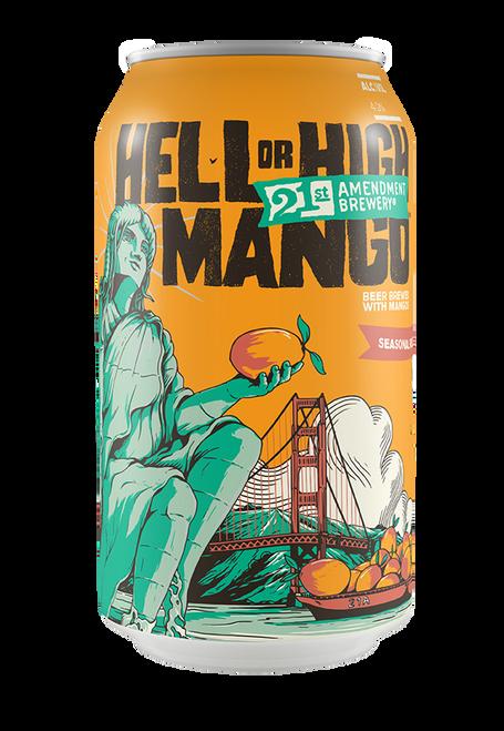21st Amendment Hell or High Mango Wheat 12pk can