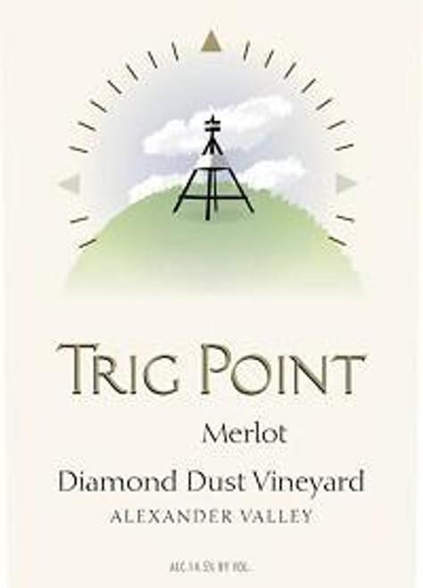 Trig Point Diamond Dust Vineyard Merlot