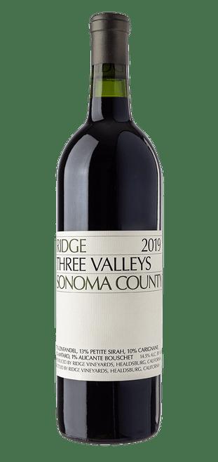 Ridge Three Valleys Sonoma County Zinfandel