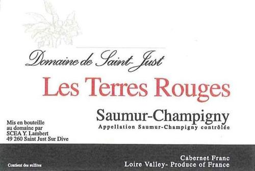 Domaine de Saint-Just Les Terres Rouges Saumur-Champigny