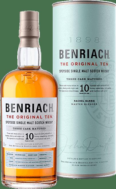 Benriach 10yr Speyside Single Malt Scotch Whisky 750mL