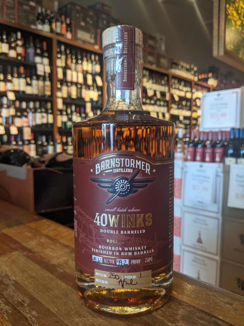 Barnstormer 40 Winks Rum Finished Bourbon Whiskey 750mL