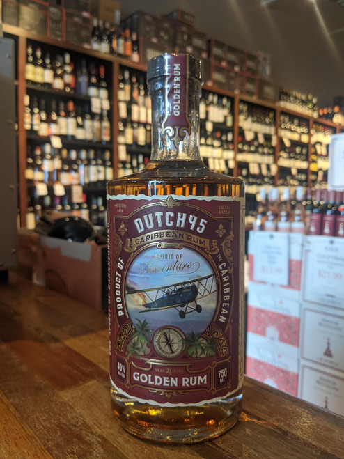 Barnstormer Dutch 45 Caribbean Golden Rum 750mL
