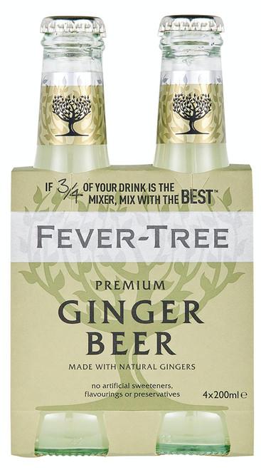 Fever Tree Ginger Beer 4pk
