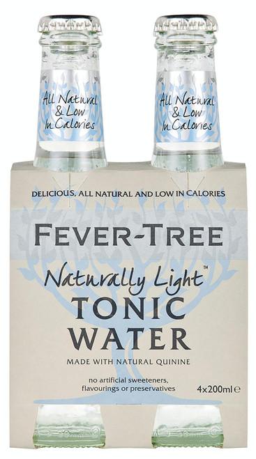 Fever Tree Natrually Light Tonic 4pk