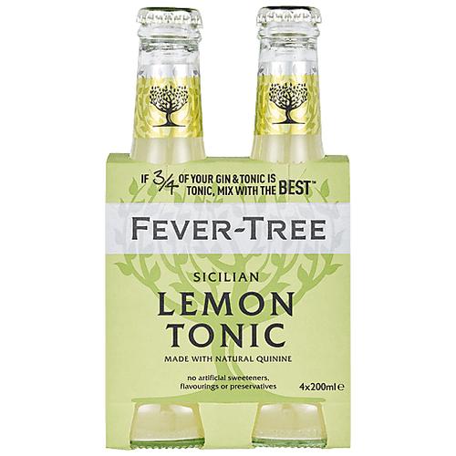 Fever Tree Premium Lemon Tonic 4pk