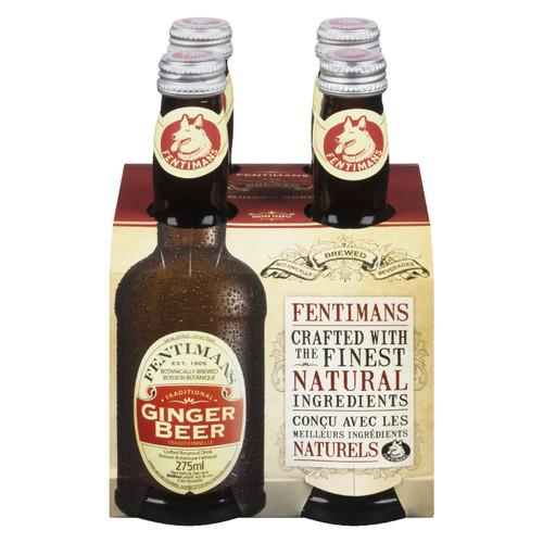Fentimans Ginger Beer 4pk