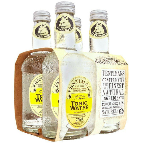 Fentimans Premium Indian Tonic Water 4pk