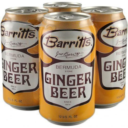 Barritts Ginger Beer Cans 4pk