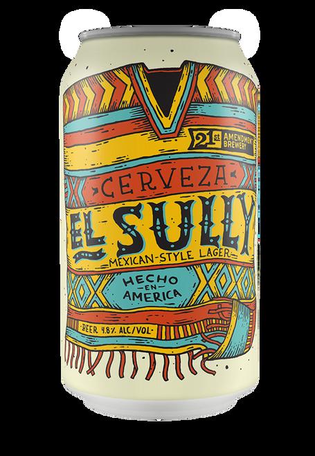 21st Amendment El Sully Mexican Lager 6pk can