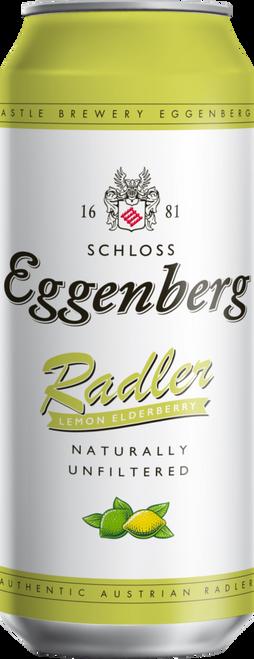 Eggenberg Lemon Elderberry Radler 4pk 500ml can