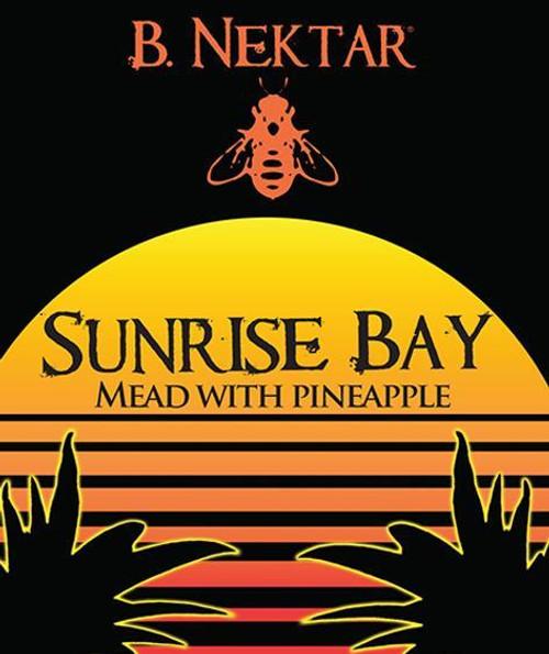 B Nektar Sunrise Bay Pineapple Mead 4pk can