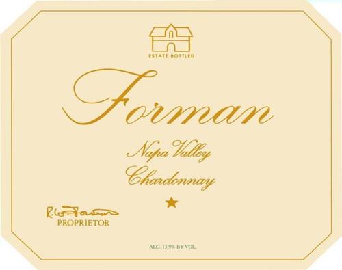 Forman Napa Valley Chardonnay