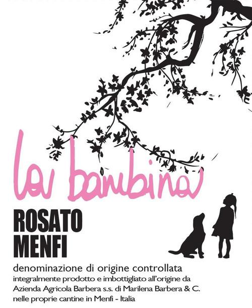 Cantine Barbera la bambina Rosato Menfi