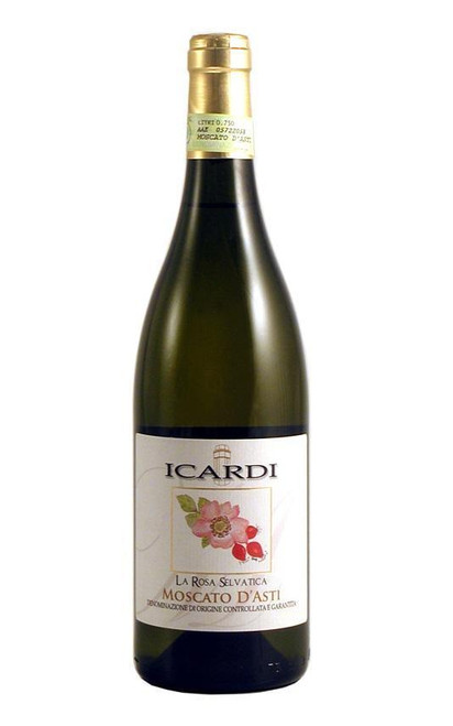 Icardi La Rosa Selvatica Moscato D'Asti 375ml