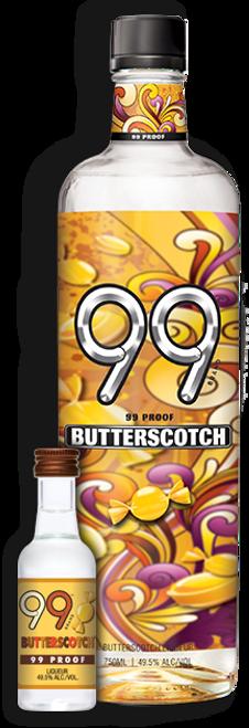 99 Proof Butterscotch Liqueur 750mL