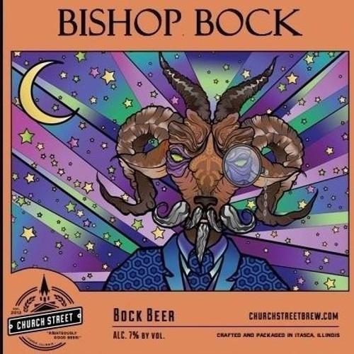 Church Street Bishop Bock 4pk 16oz can