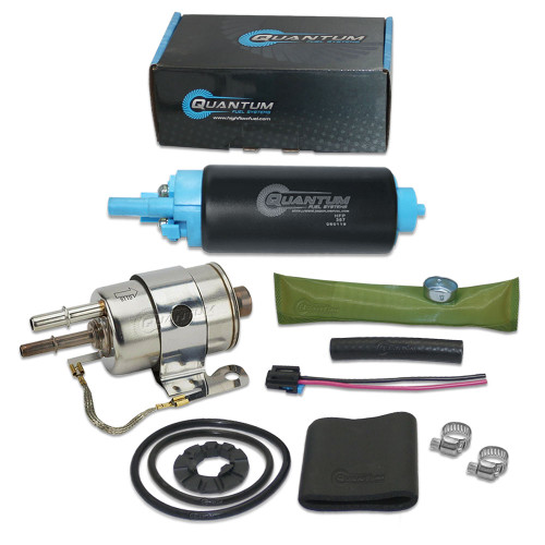 QFS Intank OEM Replacement Fuel Pump w/ Fuel Pressure Regulator/Filter for GM All Models 2.8L 1982-1995, Replaces Ep381