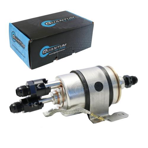 Quantum QFS LS Swap C5 Corvette Fuel Pressure Regulator/Filter + 8/6AN Fittings for Chevrolet Corvette 5.7L 1999-2004, Replaces Wix 33737